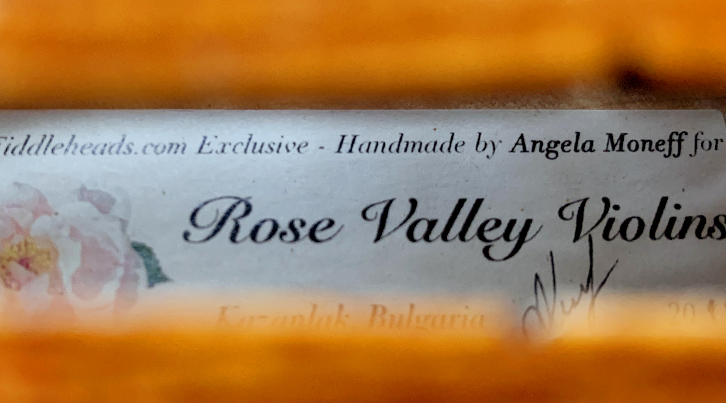 Rose Valley Violins - Fiddleheads Exclusive