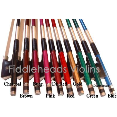 Prism European Coloured Carbon Bows in Fractional Sizes