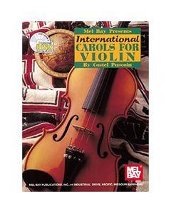 Book: International Carols for Violin (includes Play-Along CD)