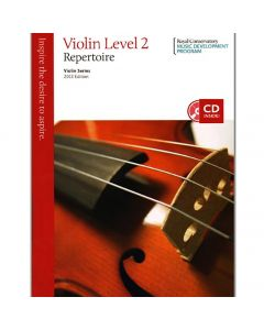 Book: Royal Conservatory Music - Violin Repertoire Level 2 - 2013 Edition with CD