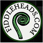 Fiddleheads.com Logo with fern