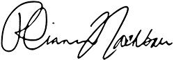 Rhiannon public signature